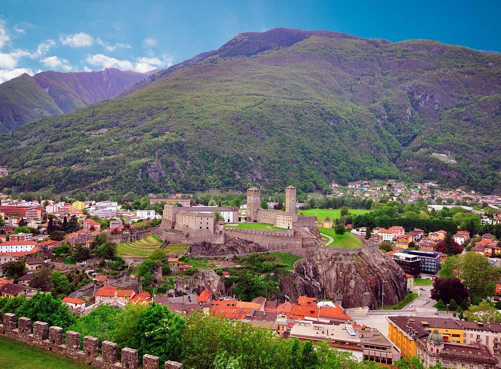 Tour Svizzera - I castelli di Bellinzona